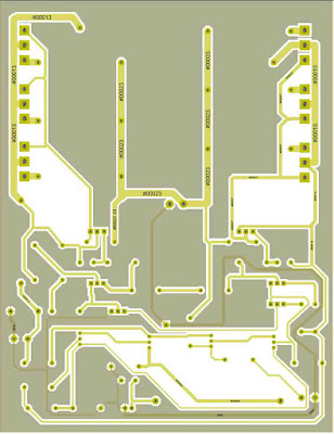 MJL21194 MJL21193 Power Amplifier PCB Layout.