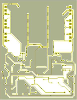 MJL21194 MJL21193 Power Amplifier PCB Layout.