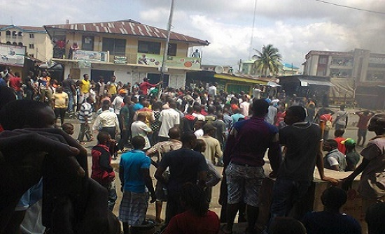 Tension!! Owerri market demolition: Traders vows to burn down Okorocha's private home