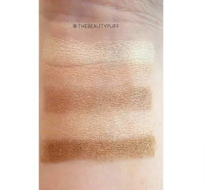 makeup revolution vivid shimmer brick radiant - the beauty puff