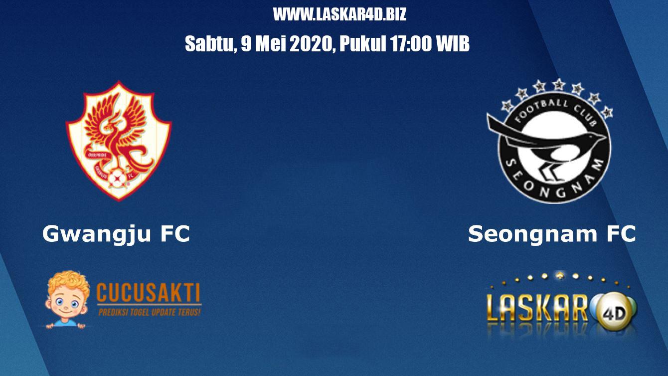 Prediksi Bola Gwangju FC vs Seongnam Ilhwa 09 Mei 2020