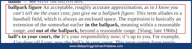 Arti In the Ballpark
