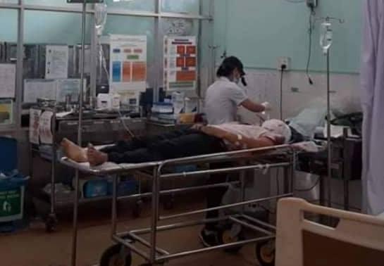 Hiếu điều trị tại bệnh viện. Ảnh: Đức Nhật