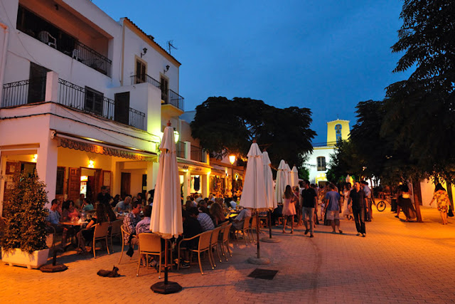 Bar Costa em Santa Gertrudis em Ibiza