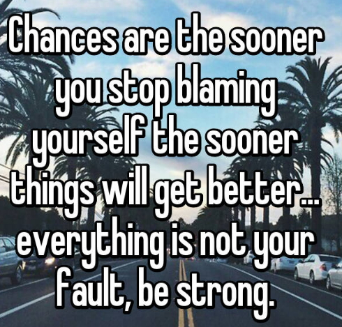 How To Stop Blaming Yourself