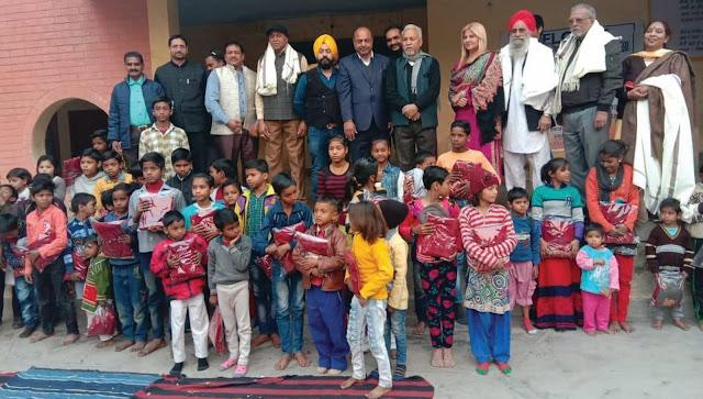 punjab sabha faridabad celebration mankar sankranti festival in sector-29 faridabad