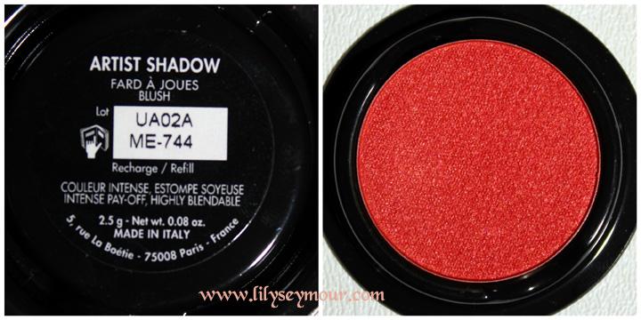 MUFE ME-744 Artist Eyeshadow