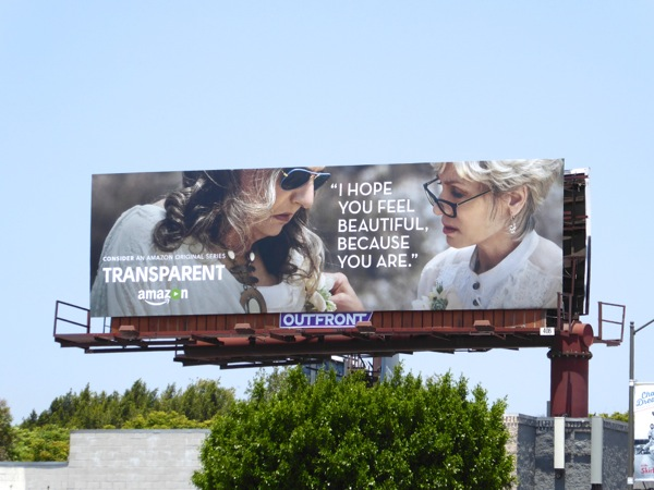 Transparent beautiful 2016 Emmy billboard
