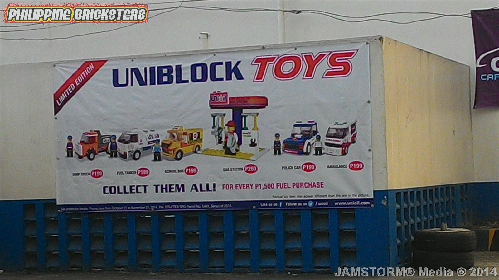 Philippine Bricksters Uniblock Promo At Unioil
