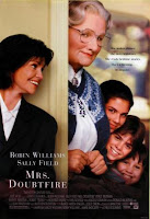 Robin Williams en Señora Doubtfire