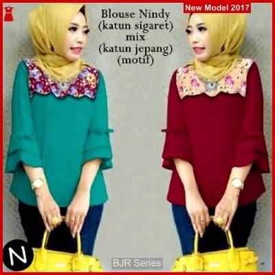 BJR002 Blouse Nindy Wanita Murah Grosir BMG
