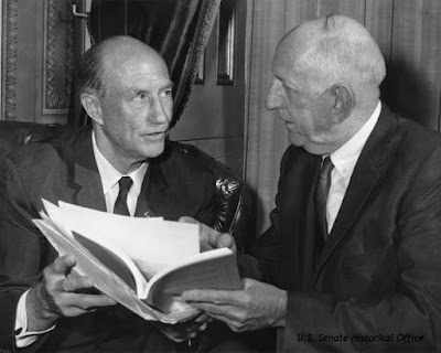 1964: Democratic Senators, Strom Thurmond of South Carolina and Richard Russell of Georgia, opposed the 1964 Civil Rights Act.