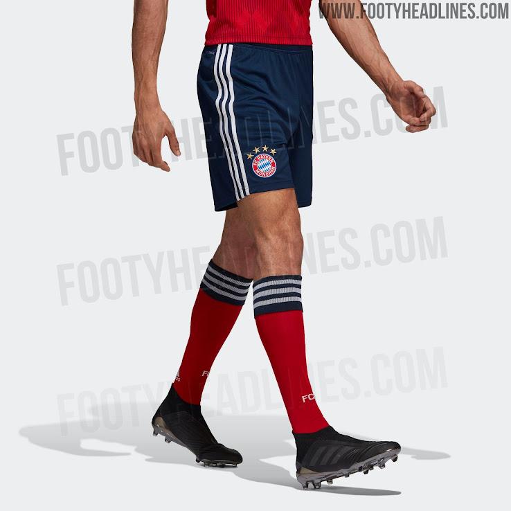 3c7a1a7b 2 of 6. 3 of 6. 4 of 6. 5 of 6. 6 of 6. 1 of 6. Dark blue shorts and red  socks complete the Bayern Munich 18-19 kit. Do you like ...