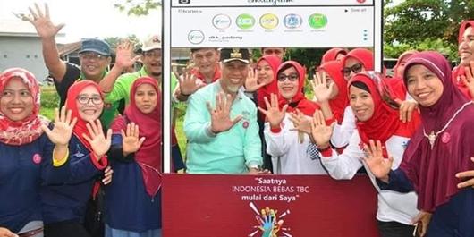 Peringati Hari TB se-Dunia di Padang, 476 Orang Positif