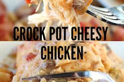Crock Pot Cheesy Chicken