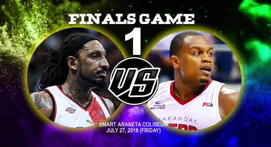 List of PBA Game(s): July 27 at Smart Araneta Coliseum 2018 PBA Commissioner's Cup Game 1