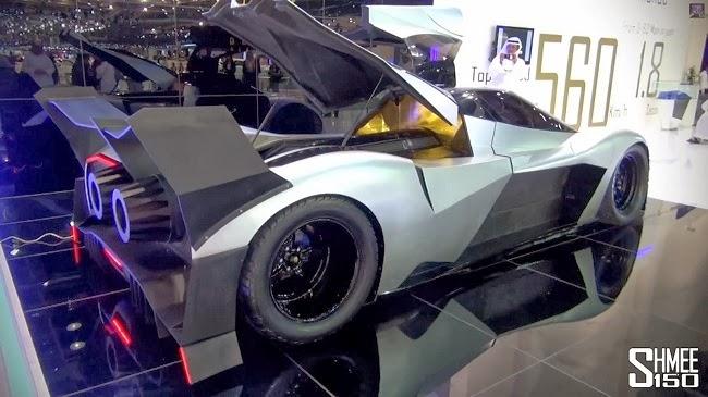 5,000 hp Devel Sixteen unveiled at Dubai Motor Show ...