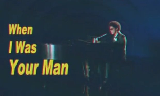 Bruno mars when i was your man means