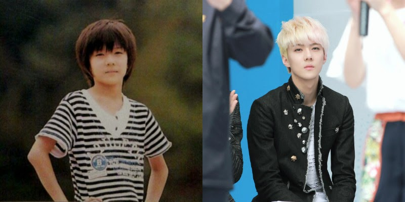 Appreciation 12 Childhood Photos Of Exo Looking Exactly As They Do Today Celebrity Photos Videos Onehallyu