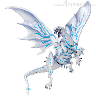 Figura Blue Eyes Alternative White Dragon Vulcanlog 013 Yu-Gi-Oh! Revo