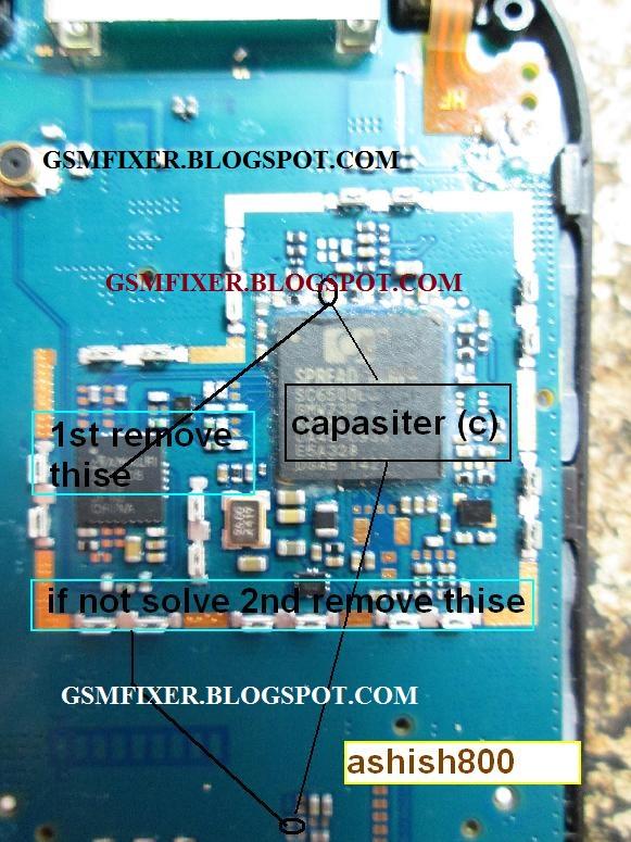 Samsung E1200 Sim Card Jumper Ways Solution | gsmfixer
