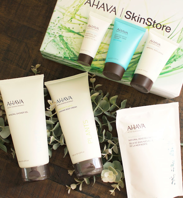 AHAVA, Skinstore, beauty box, natural skincare, Dead Sea skincare, beauty, beauty blogger, Sarah Satongar