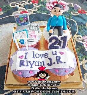 Cupcake Untuk Pegawai Bank