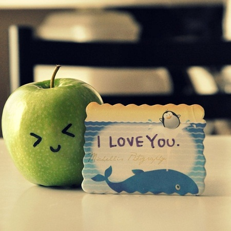 A Very Cute I Love You Picture for Whatsapp