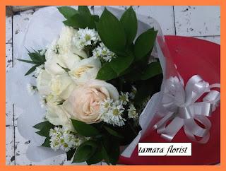 jual bunga buket mawar jakarta timur