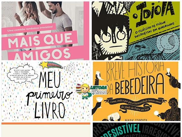 Lançamentos: Paralela, Quadrinhos na Cia., Objetiva, Fontanar, Penguin Companhia e Companhia de Mesa (Grupo Companhia das Letras)