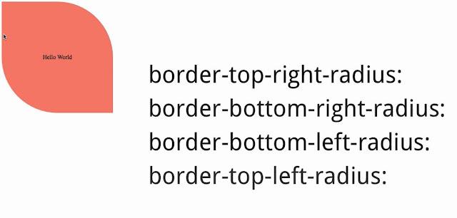 Membuat variasi dengan Border Radius pada css3