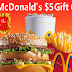 $5 McDonald's Gift Card Instant Win Giveaway - 800 Winners. Daily Entry, Ends 12/7/18