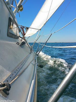 Cruising on a 1978 Mega 30 foot racer sailboat