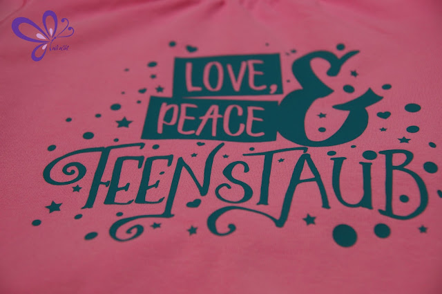 Plotterdatei Love, Peace und Feenstaub von shhhout