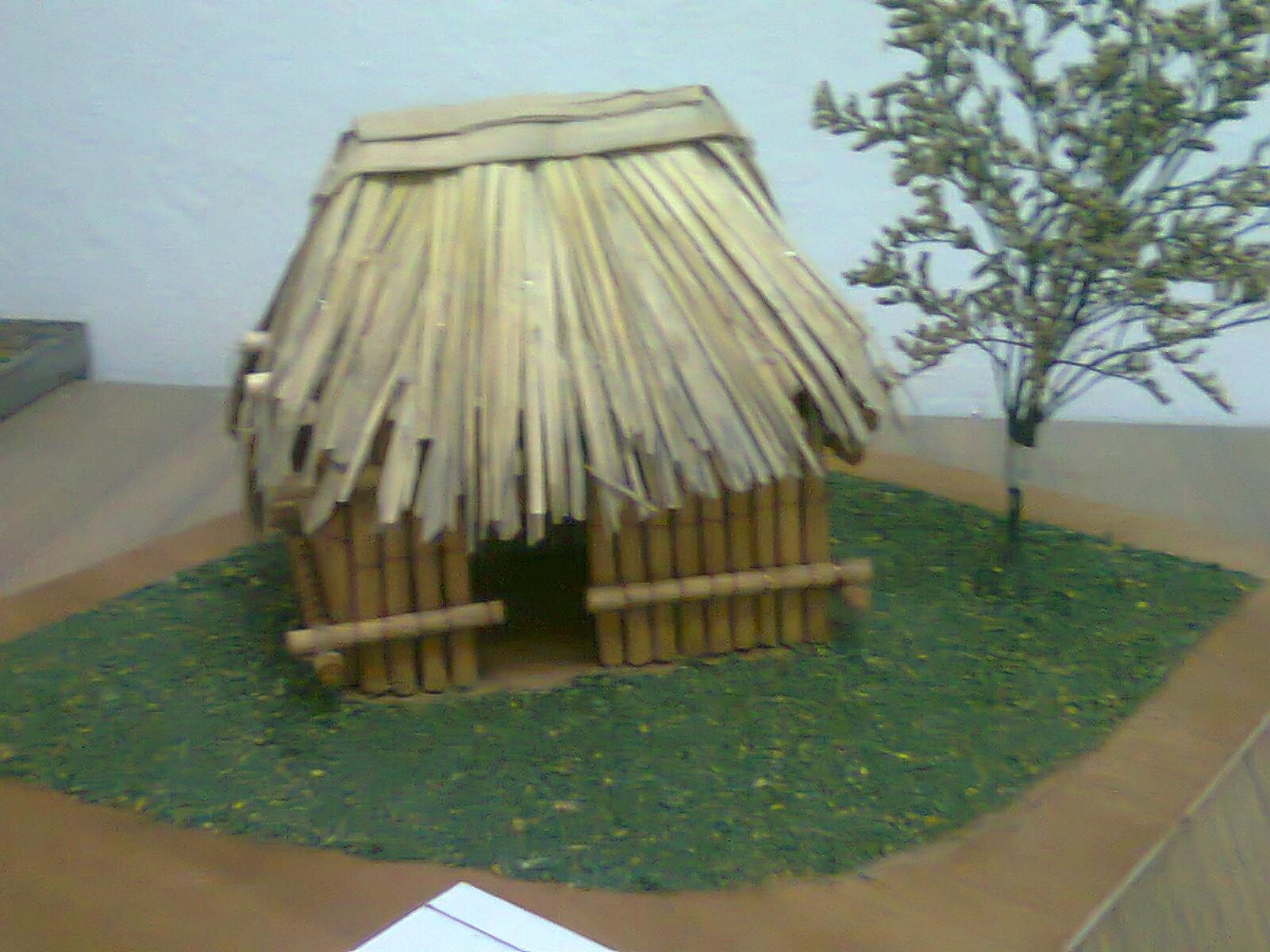 Arodi a uicab marin trabajos realizados en maquetas for Tipos de tejados de casas