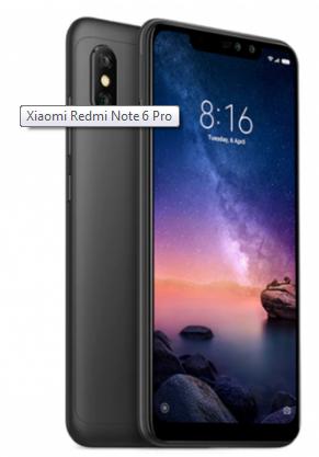 Xiaomi redmi note 6 pro specifications
