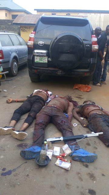 Photos: Police confirms killing of E-Money, arrest of his gang over kidnap of South African-based Nigerian man, his driver and two others in Imo