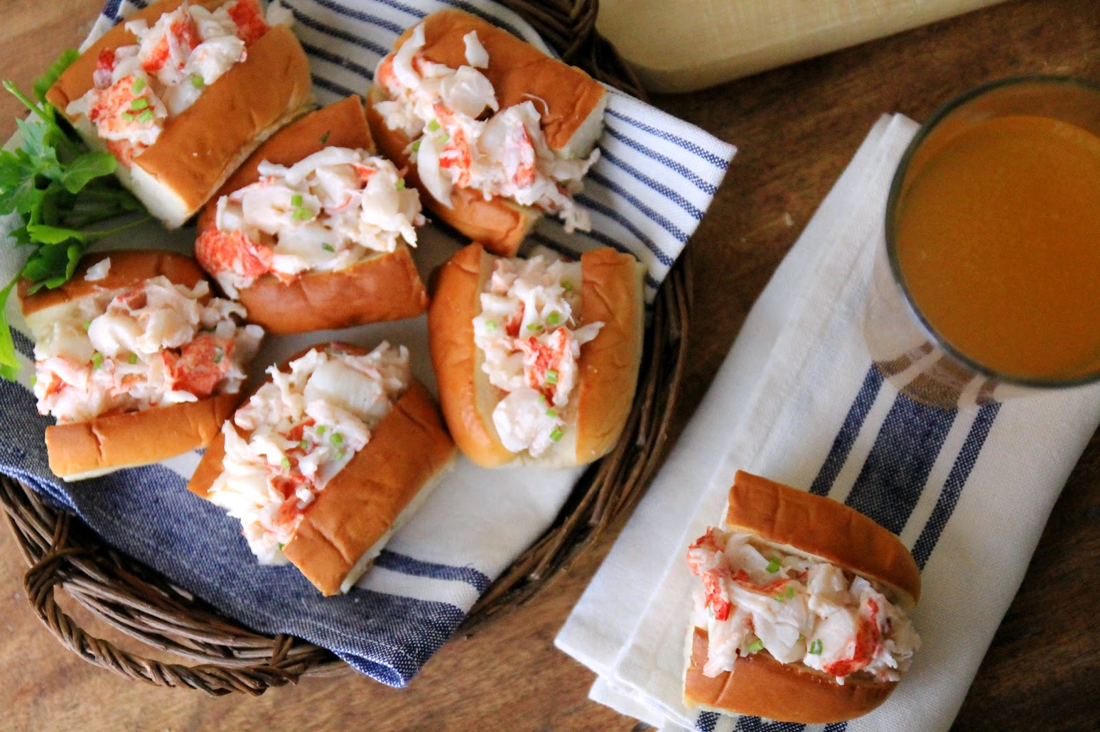 Jenny Steffens Hobick Mini Lobster Rolls For The