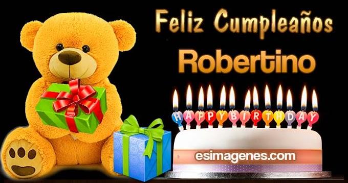 Feliz Cumpleaños Robertino