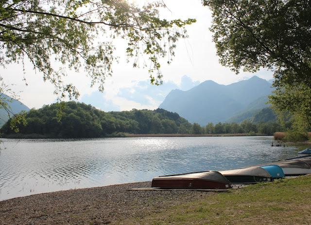 Lago di Piano. Lago de Como