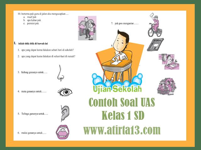 Contoh Soal UAS Kelas 1 SD Format Words