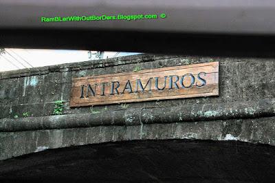 city wall gate, Intramuros, Manila, Philippines