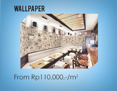 Ruangan Indah dengan Custom Wallpaper