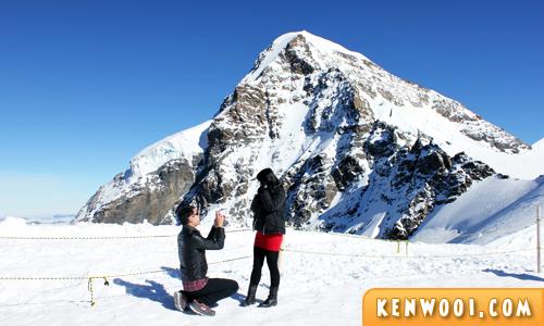 proposal on swiss alps