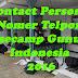 Contact Person / Nomer Telpon Basecamp Gunung Indonesia 2016