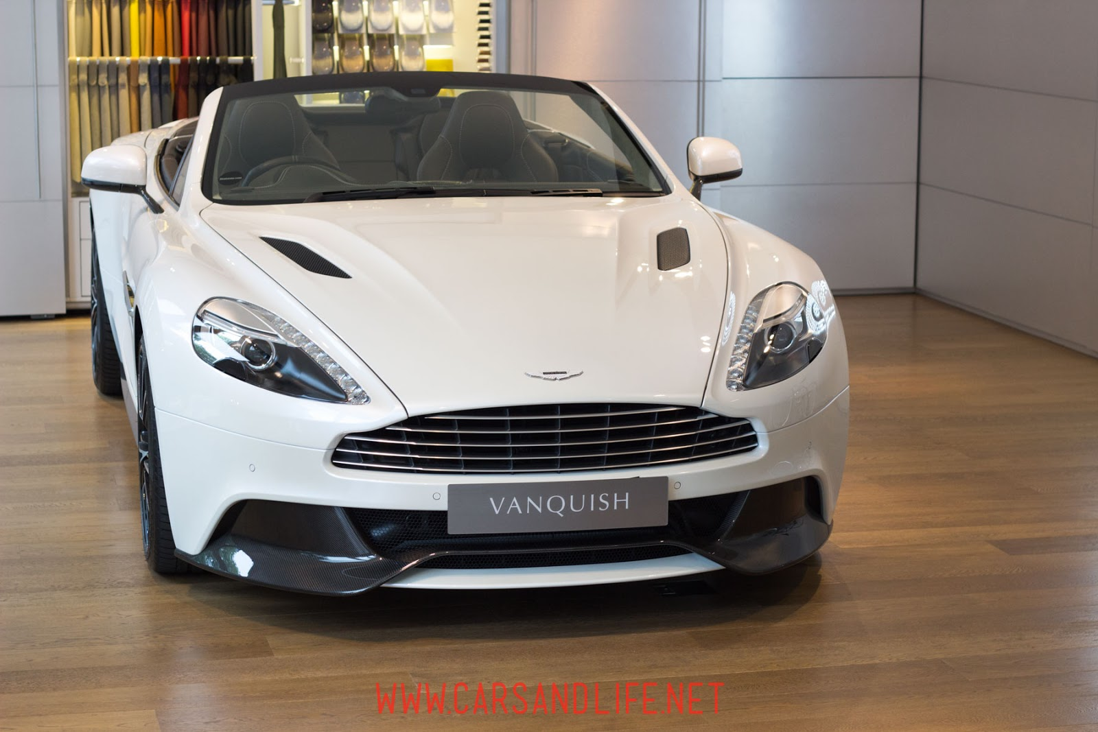 New Aston Martin Vanquish at W-One London Dealer