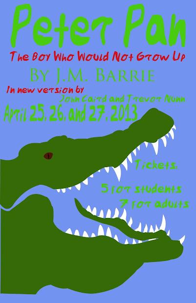 Digital Art Education Peter Pan Play Posters