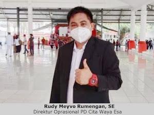 Perkuat BUMD, Bupati Wongkar Lantik Meyvo Rumengan sebagai Dir Ops PD Cita Waya Esa