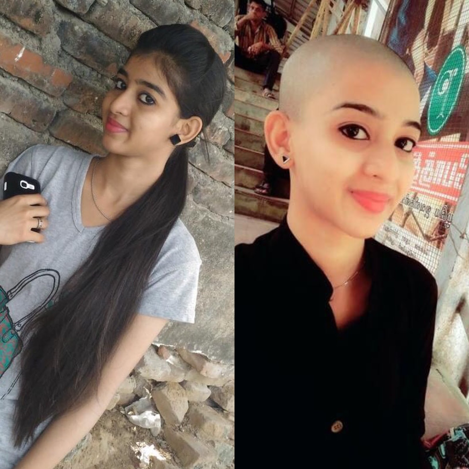 I shaved my hair for a Cause - Chennai girl headshave experience - All About Hair