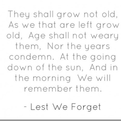 lest we forget anzac day quote 2017